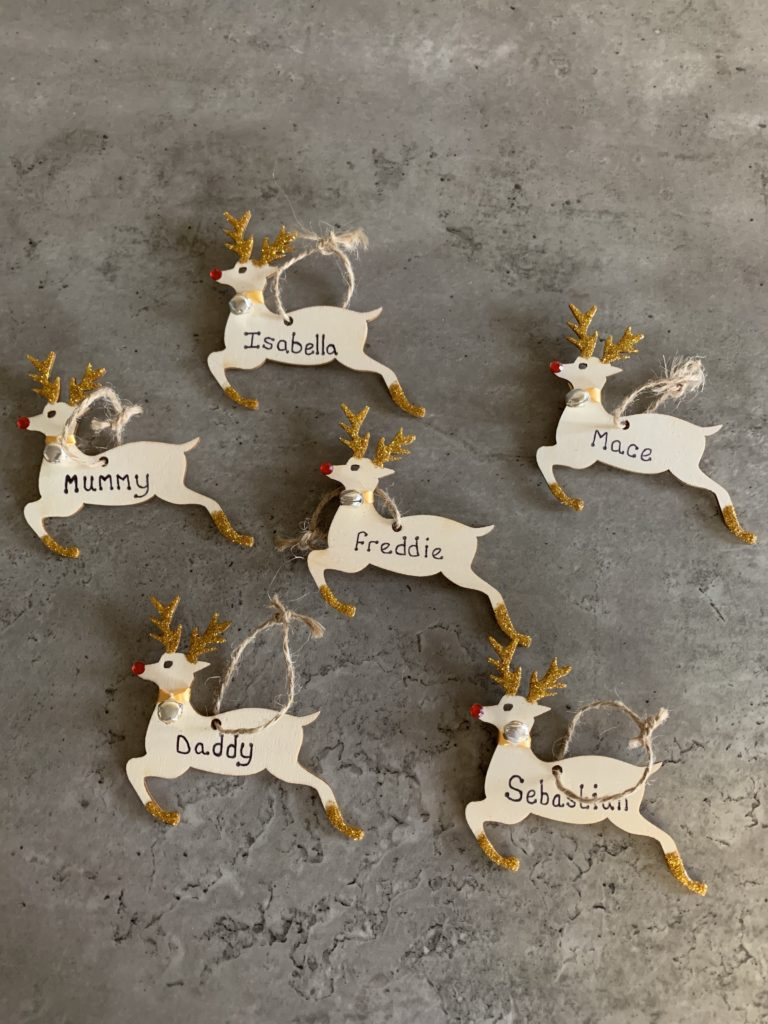 Personalised Christmas tree decorations - main product image