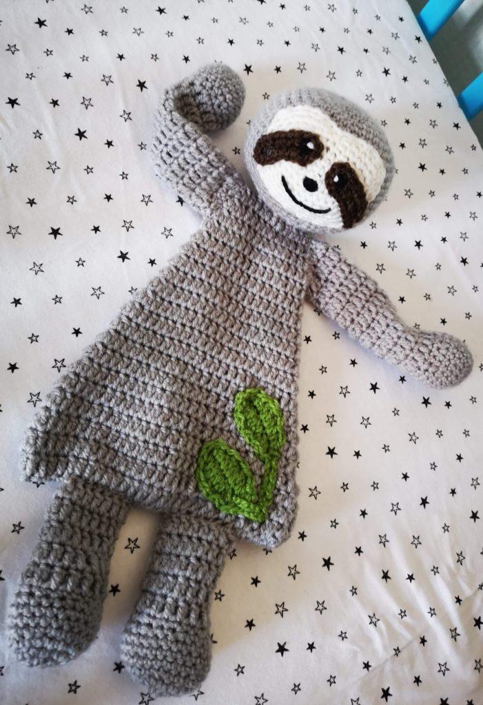 Sensory sloth lovey - main product image