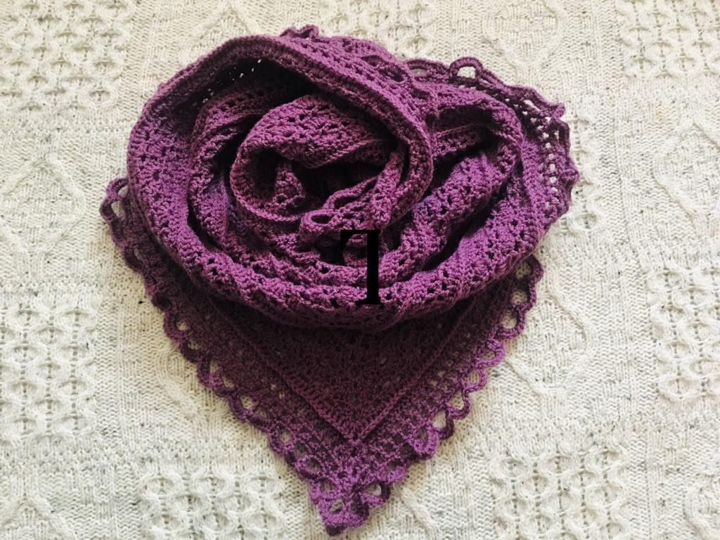 Rose Shawl - main product image