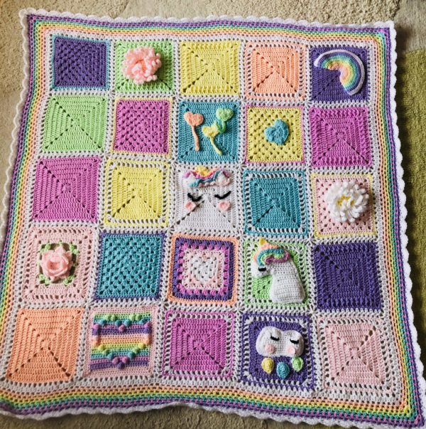 Unicorn Dreams Blanket - product image 5
