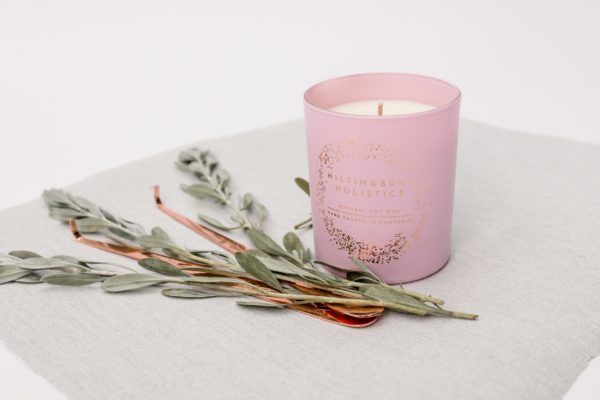 Natural soy wax scented candle hand-poured in Hampshire - product image 5