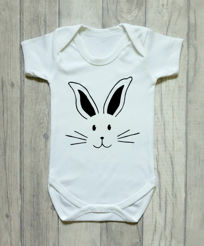 Rabbit baby vest - main product image