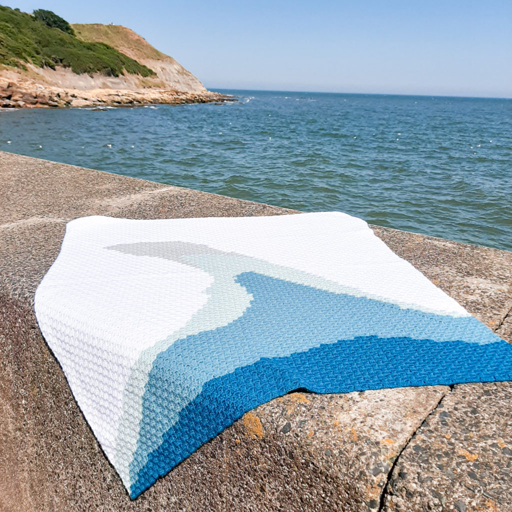 Ocean theme blanket - main product image