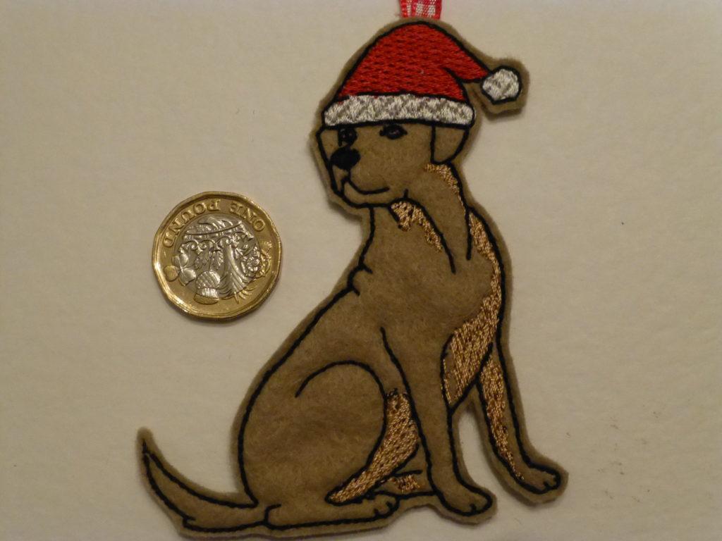Golden Labrador – Christmas tree decoration - main product image