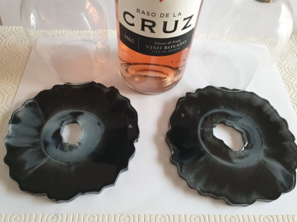 Orca inspired wine butler & coaster set - product image 3