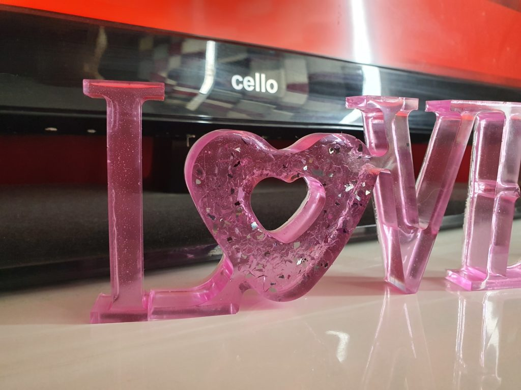 Freestanding love sign - product image 4