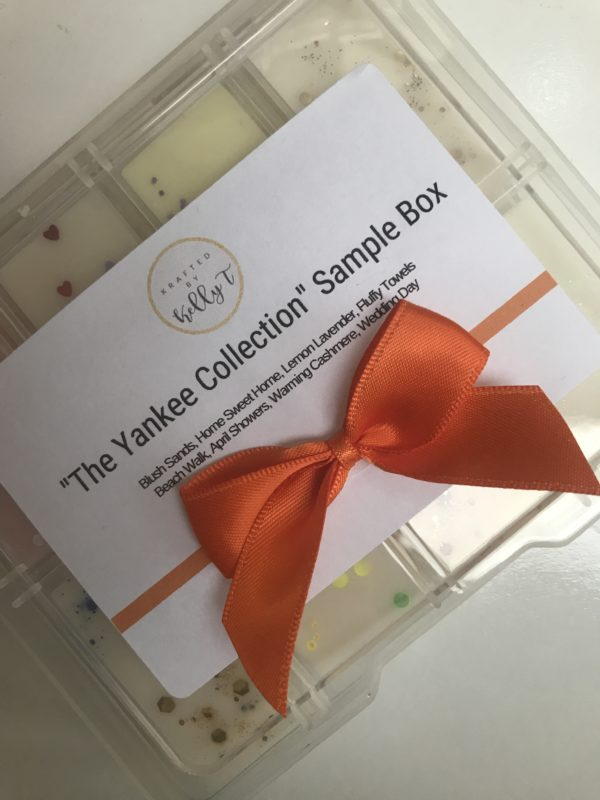 Luxury Soy Wax Melt Sample Box Yankee Collection - main product image
