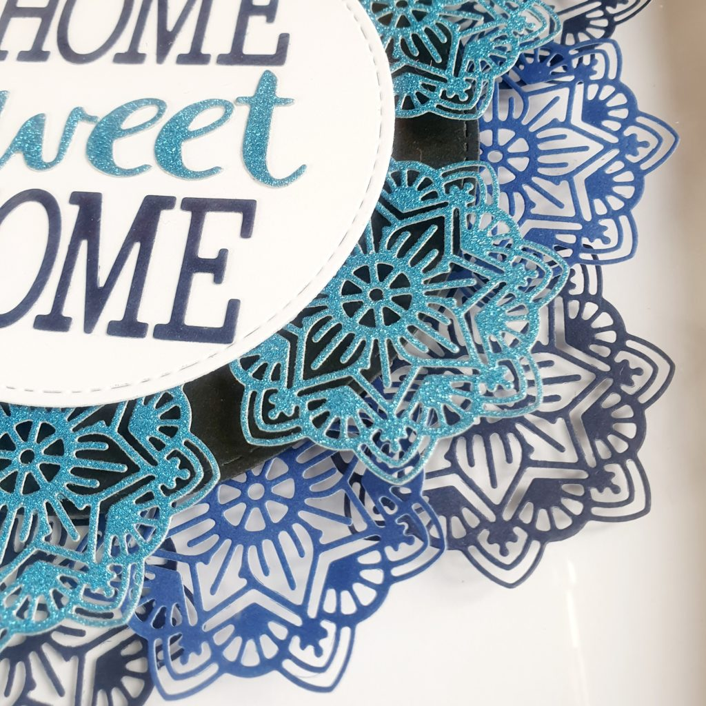 Home Sweet Home Frame – Blues - product image 3