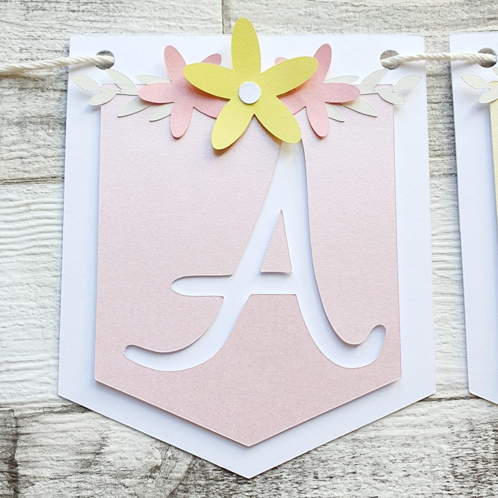 OLIVIA Style Bunting – Pink & Yellow - product image 3