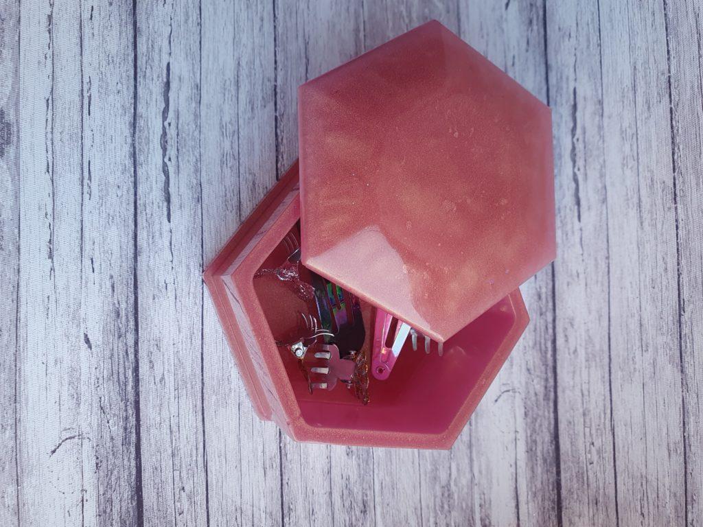 Hexagon Trinket Box - product image 2