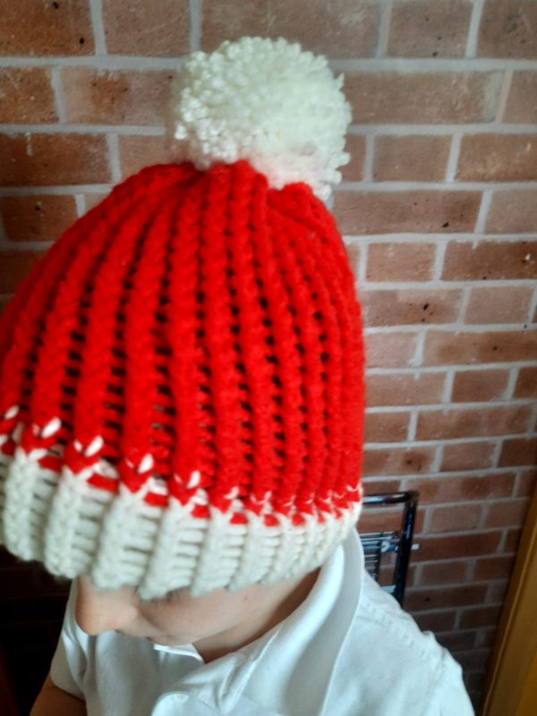 Hand knitted Santa hats - product image 2