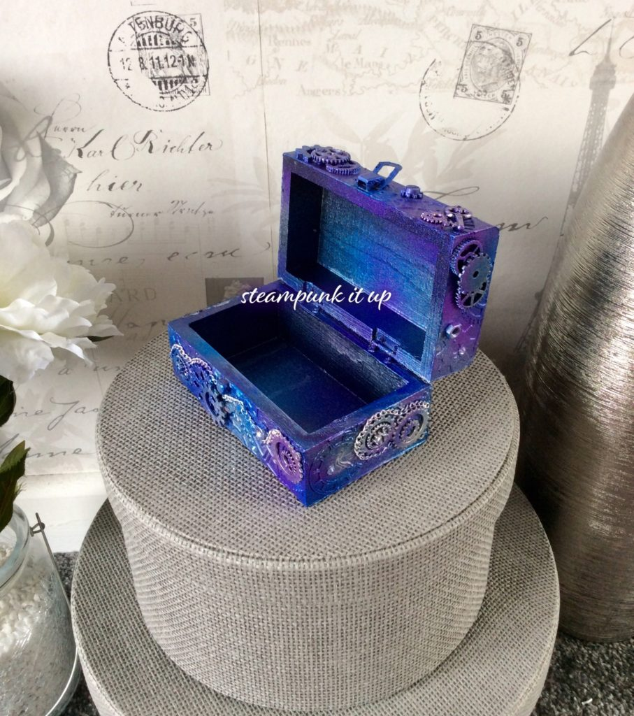 Steampunk Mixed Media Small Trinket Box - product image 3