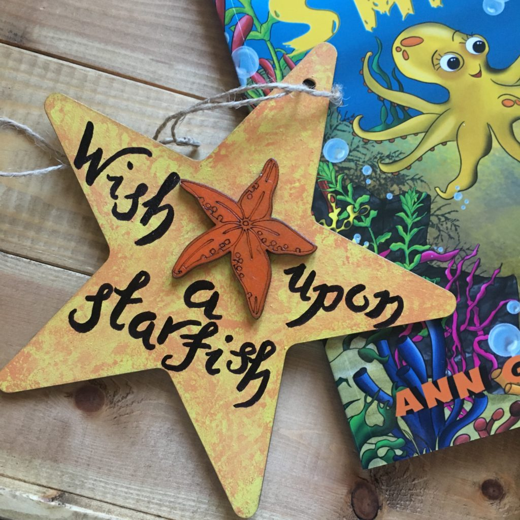 Wish upon a starfish sign - product image 4