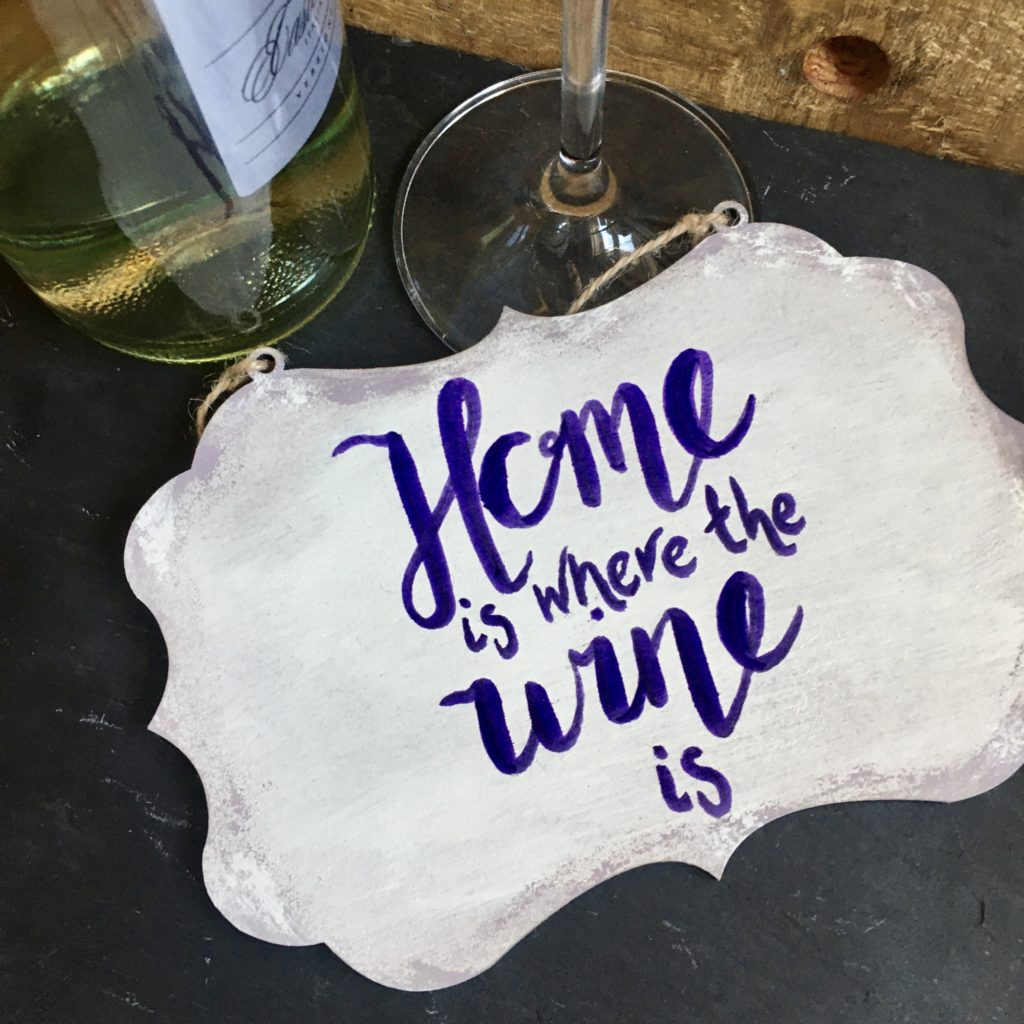 Home is where the wine is sign - product image 3