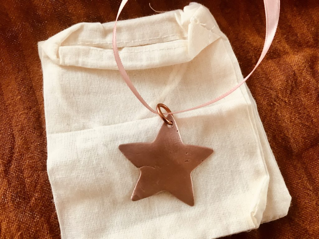 Star christmas tree decorations personalised - product image 3