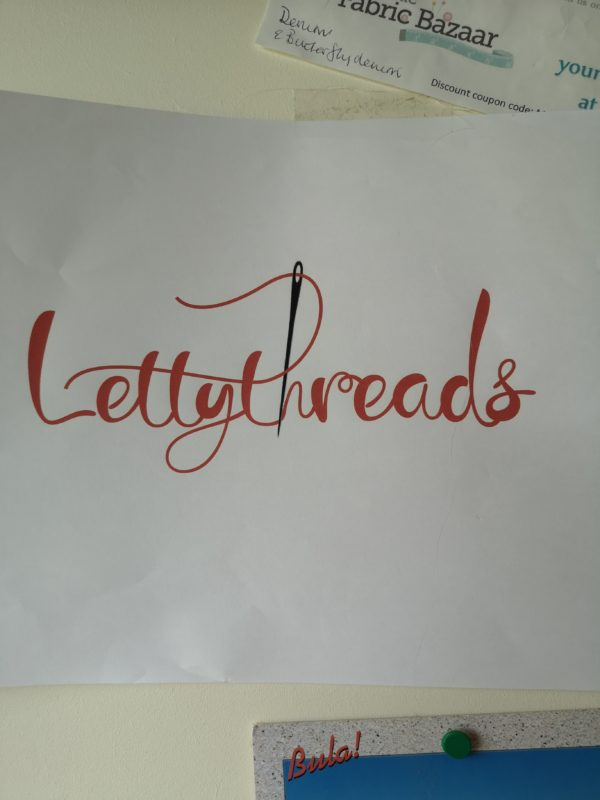 Lettythreads shop logo